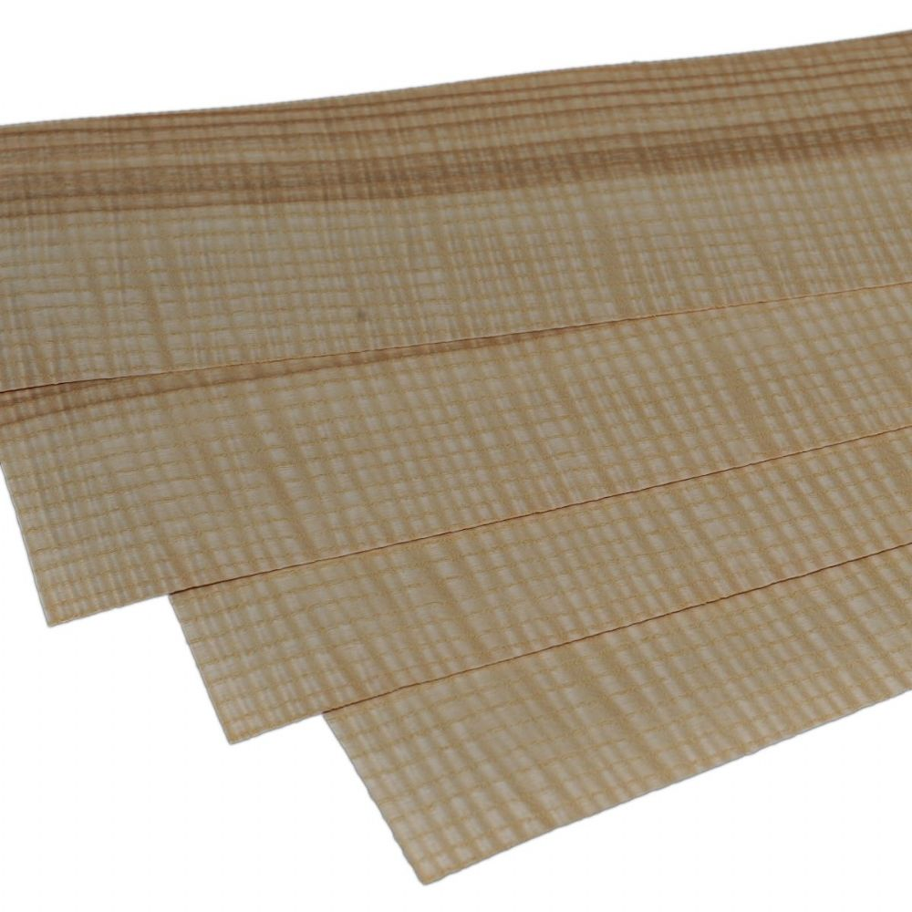 Figured Olive Ash<br /> Set of 4 leafs<br />22&quot; x 4.5&quot; ( 56 x 11 cm )